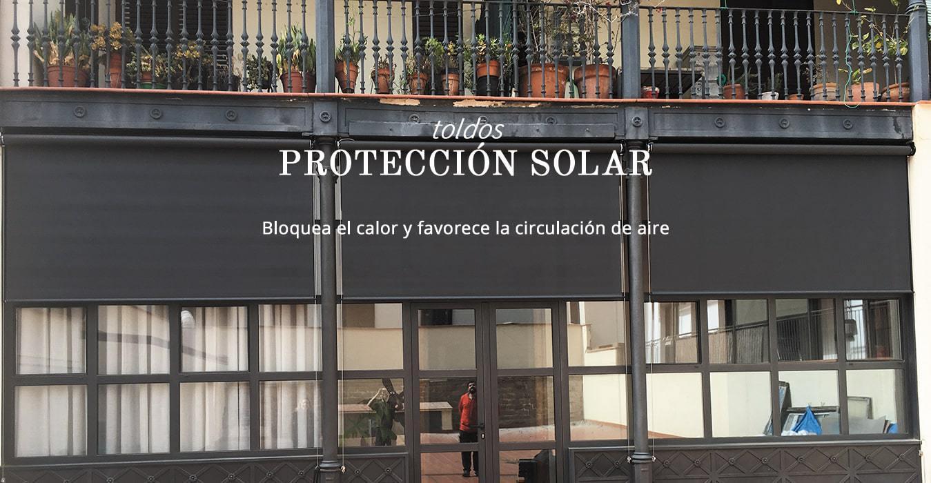 Toldos de todo tipo para la Protección Solar